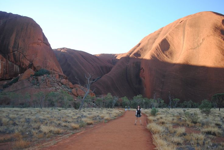 "So to round off our Uluru trip, we also chose to do the Kuniya Walk which is more of a stroll from the parking lot in my opinion rather than a ""walk"". In any case, time was limited and husband fell asleep in the car so this is how it went down! The"
