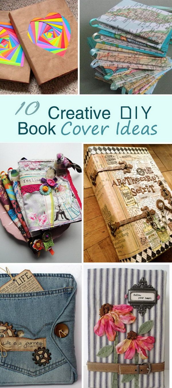 Book Cover Art Diy : Unique fabric book covers ideas on pinterest journal