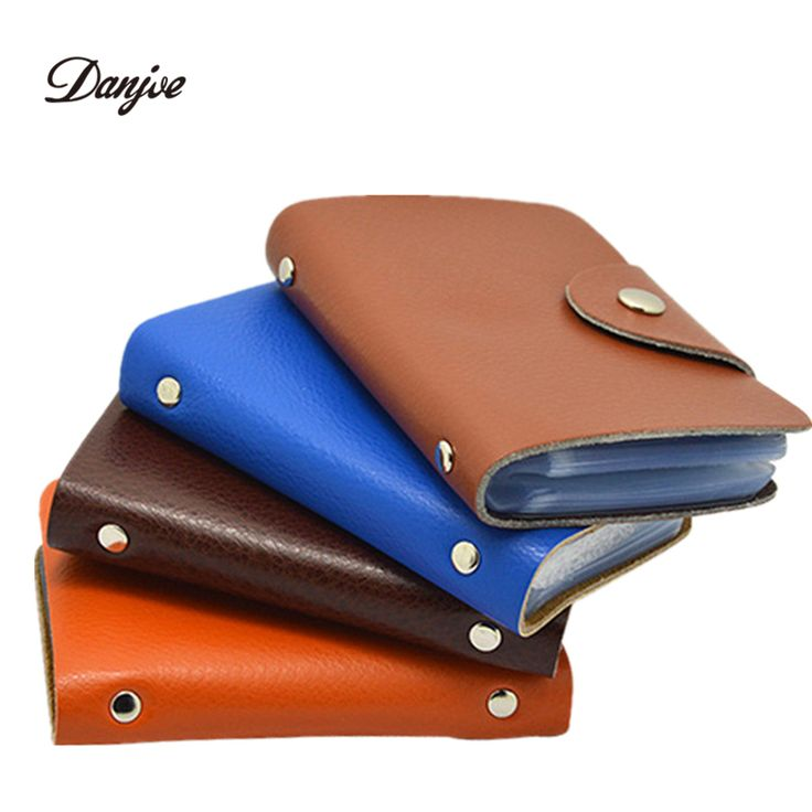 DANJUE Fashion Men card holder leather women credit card holders solid casual card case cowhide credit card bag >>> See this great product.