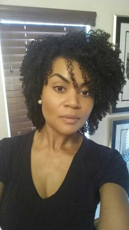 25 Short Curly Afro Hairstyles | http://www.short-haircut.com/25-short-curly-afro-hairstyles.html