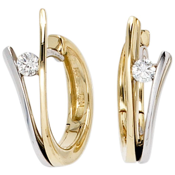 Creolen 585 Gold Gelbgold Weißgold bicolor 2 Diamanten Brillanten Ohrringe  https://www.ebay.de/itm/Creolen-585-Gold-Gelbgold-Weissgold-bicolor-2-Diamanten-Brillanten-Ohrringe-/162574537918?refid=store&ssPageName=STORE:accessorize24-de