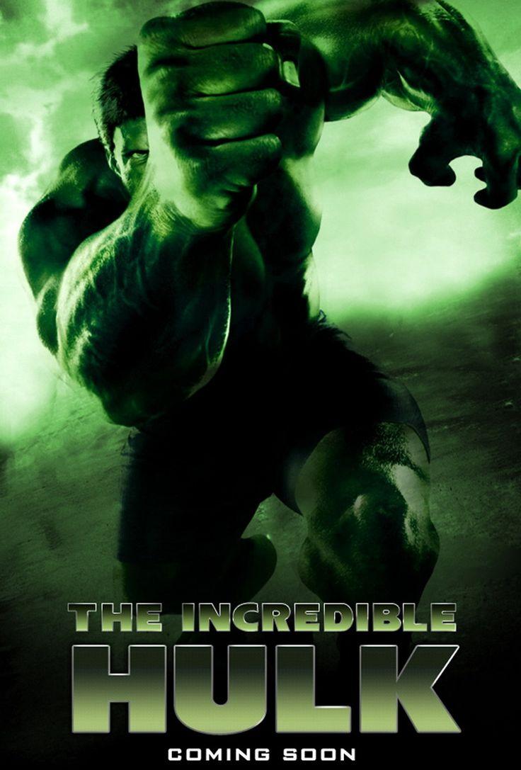 #Hulk #Fan #Art. (The Incredible Hulk Movie Poster) By: Marvel. ÅWESOMENESS!!!™ ÅÅÅ+