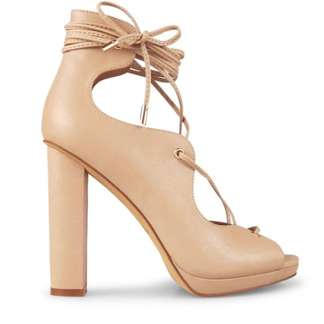 Wittner Millian Heel Nude Leather