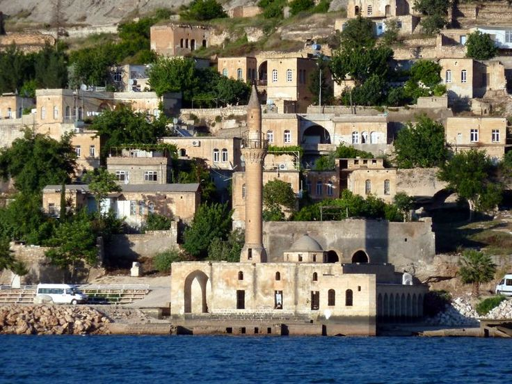 Mosque at Halfeti in Turkey