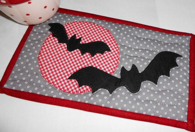 A gingham moon?  Whoever heard of such a thing?   The Patchsmith - obviously!