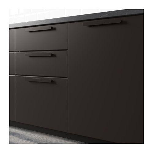 KUNGSBACKA Drz sza nar 2 szt IKEA Powierzchnia pokryta folią jest odporna na oddziaływanie zewnętrzne i łatwa do utrzymania w czystości.