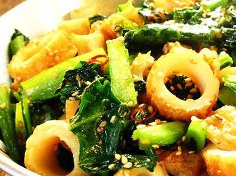 ■かんたん1品♪ちくわと小松菜の炒め物■の画像