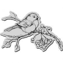 Stampendous - SNOW BIRD - cling razítko