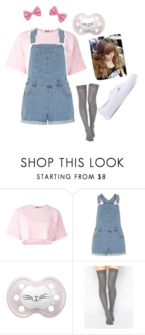 """""""DD/lg"""" by little-milk ❤ liked on Polyvore featuring Steve J & Yoni P, Dorothy Perkins, ASOS and Vans"""