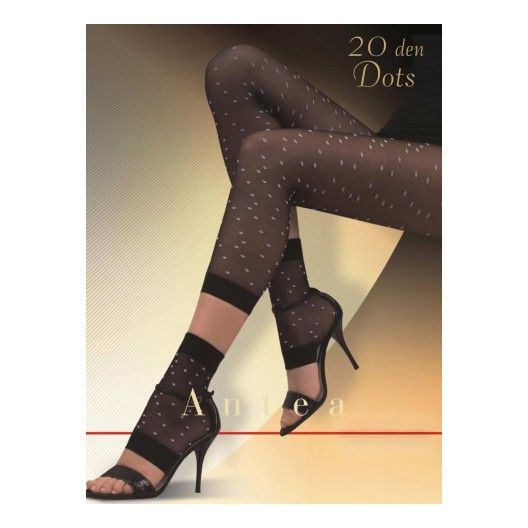 Cute sheer patterned footless tights with matching socks.