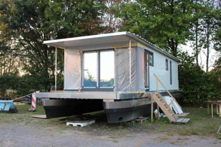 Hausboot zu verkaufen * Leben auf dem Wasser * jetzt noch individuell gestaltbar * NEU * 2016 *