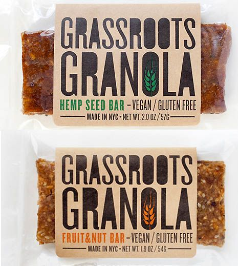 Grassroots Granola - Ross Pike, Art Direction and Design