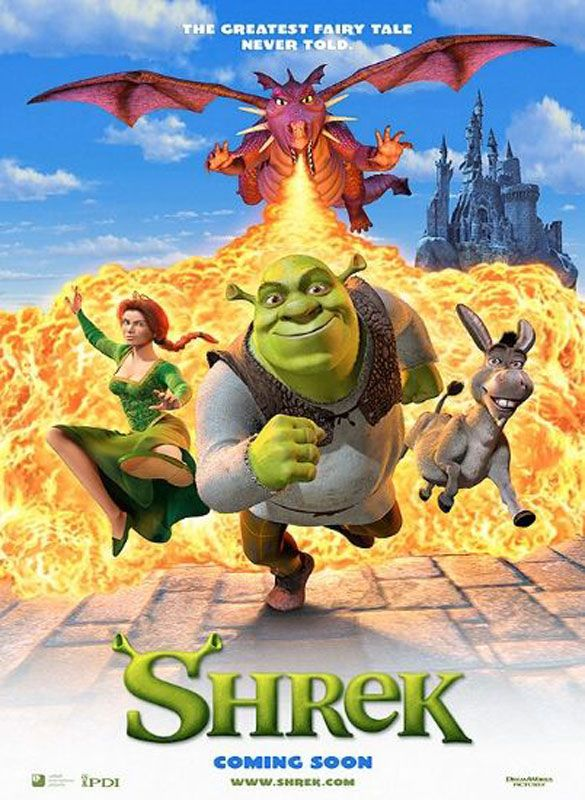 2001 – Shrek, Movie Poster Dreamworks