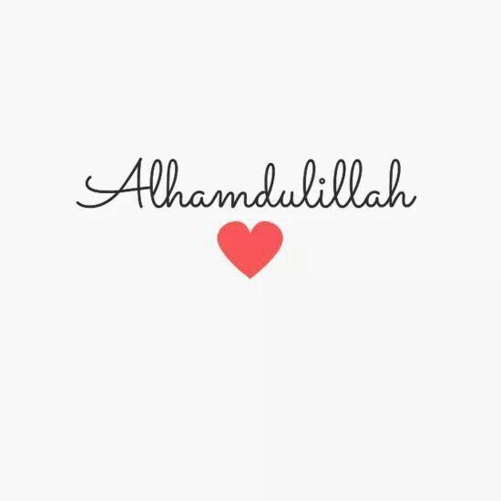 Thanks God #alhamdulillah