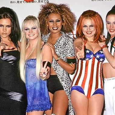 Music: Mel B Emma Bunton and Geri Halliwell had a Spice Girls reunion