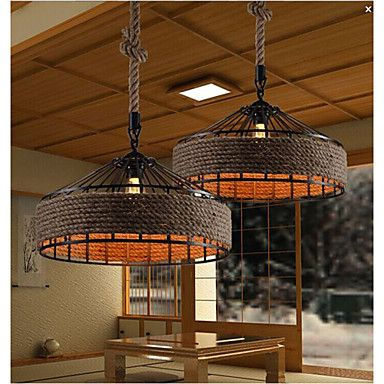 40 Chandelier , Country Others Feature for Designers Metal Living Room / Bedroom / Dining Room / Study Room/Office 4886359 2016 – €233.23