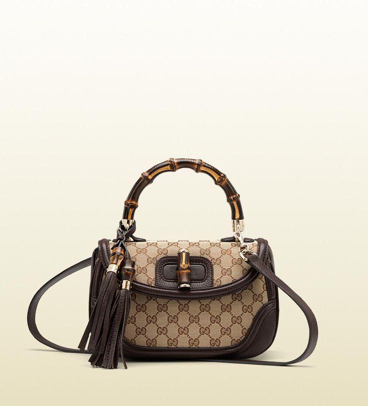 Gucci bamboo bag guccissima.need
