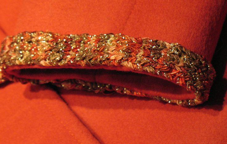 Sewing- mini tutorial - CHANEL JACKET TRIMS  Knitting trim from ribbon