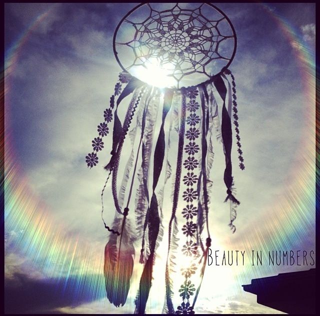 'Crystal Vision' One-of-a-kind handmade dreamcatcher by Beauty In Numbers. Made with love & light energy.