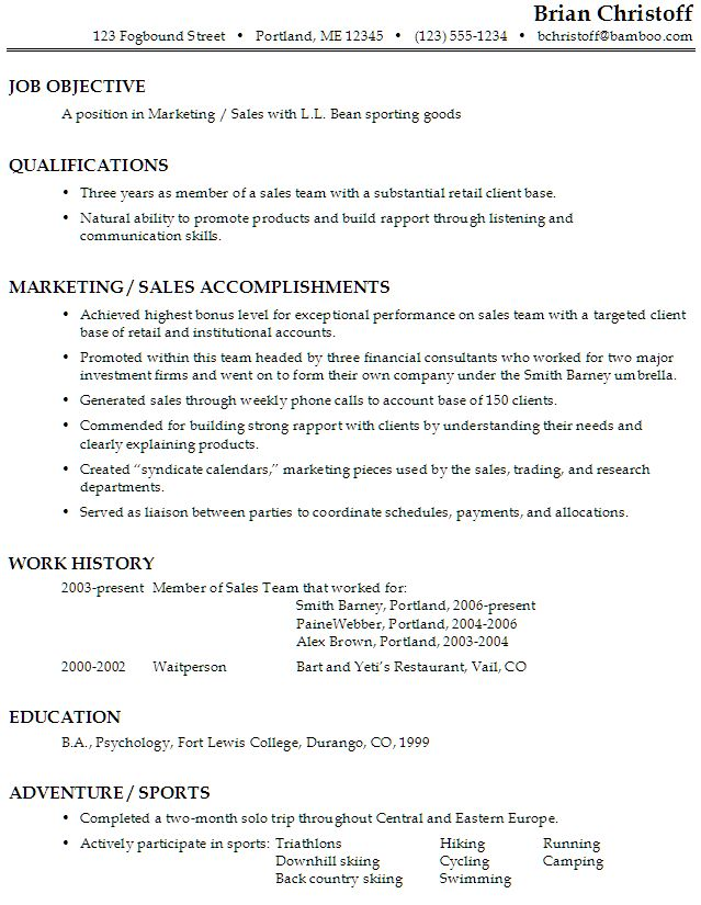 The 25+ best Good resume objectives ideas on Pinterest - retail resume objective examples