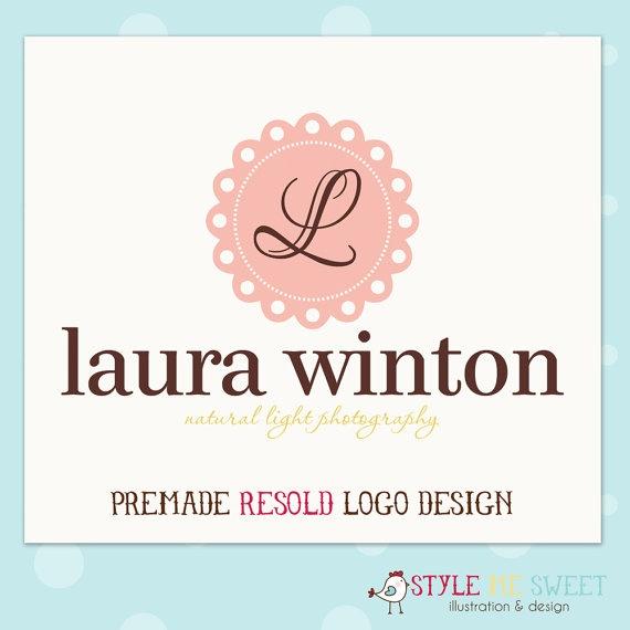 Custom Premade Photography Logo Watermark by stylemesweetdesign, $35.00