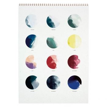 Moon Calendar 2016 by All The Way To Paris for Paper Collective.