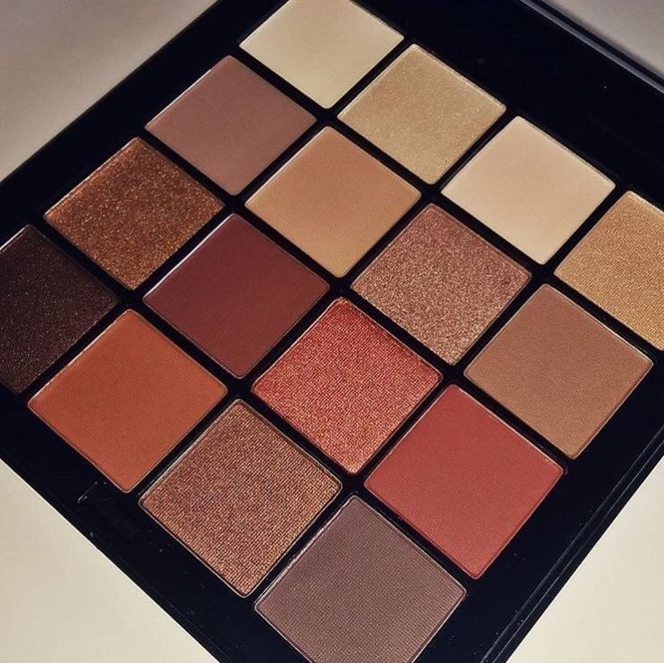 "NYX Cosmetics Ultimate shadow palette ""warm neutrals""."