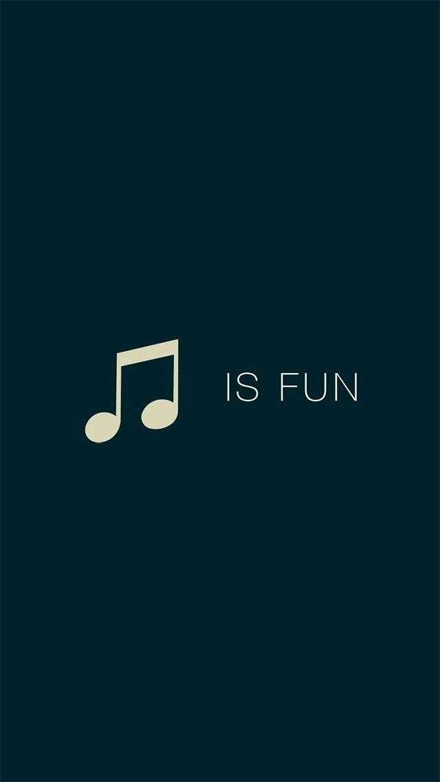 Music Is Fun IPhone 5 Wallpaper