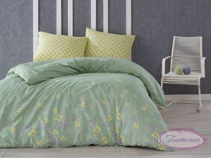 Постельное белье Marie Сlaire Cotton - Parisette зеленое