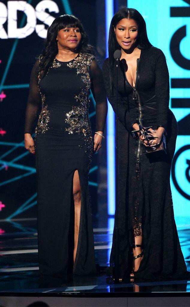 Nicki Minaj's Mom Was the Real Star of the BET Awards  Nicki Minaj, Carol Maraj, 2015 BET Awards