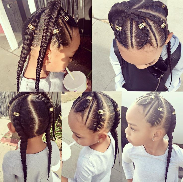 Stupendous 1000 Ideas About Mixed Girl Hairstyles On Pinterest Mixed Girls Short Hairstyles Gunalazisus