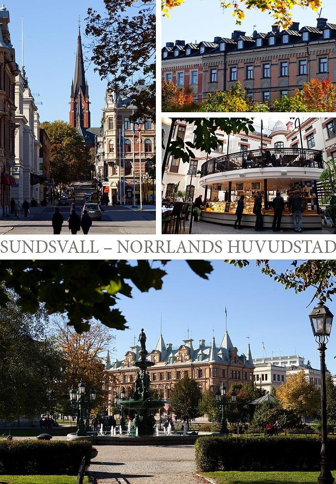 Sundsvall, Sweden. My hometown