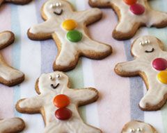 Gingerbread Biscuits Recipe - Easy Food Recipes - Lunch box
