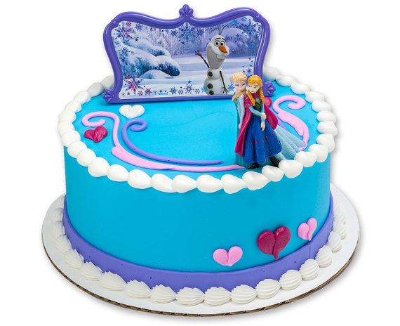 Frozen Cake Kit / Frozen Elsa & Anna Cake by ChristyMaries83