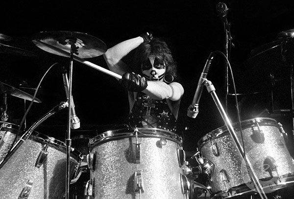 Peter Criss Drum Set | Courtesy of Lydia Criss - Sealed With A Kiss
