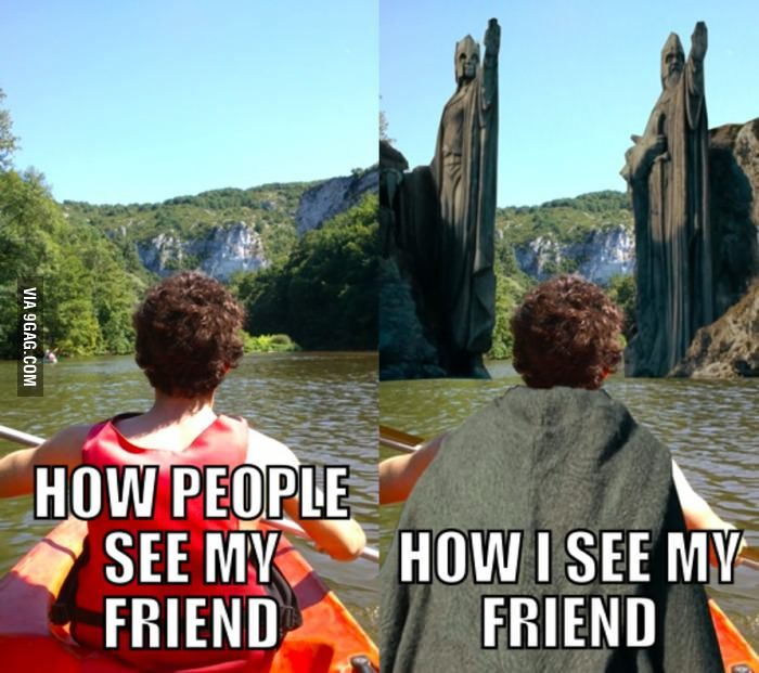 You know you're a LOTR fan when...
