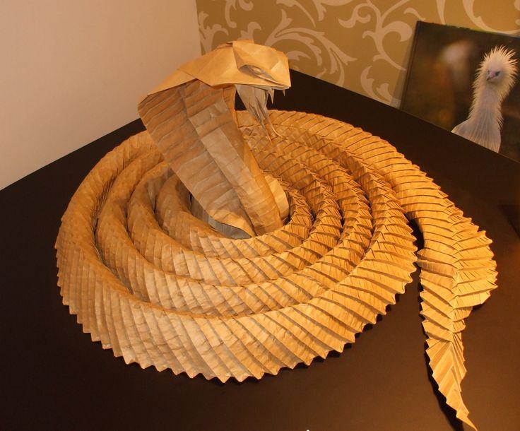 Výsledek obrázku pro origami cobra