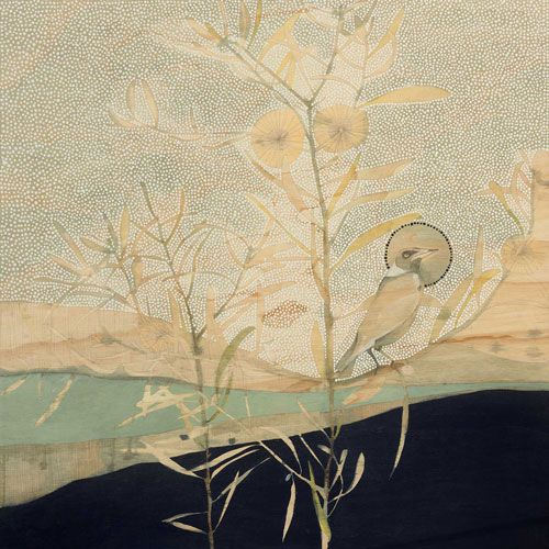 Petrichor (n) The smell of Earth after Rain - Magpie and Hakea artist: dana kinter