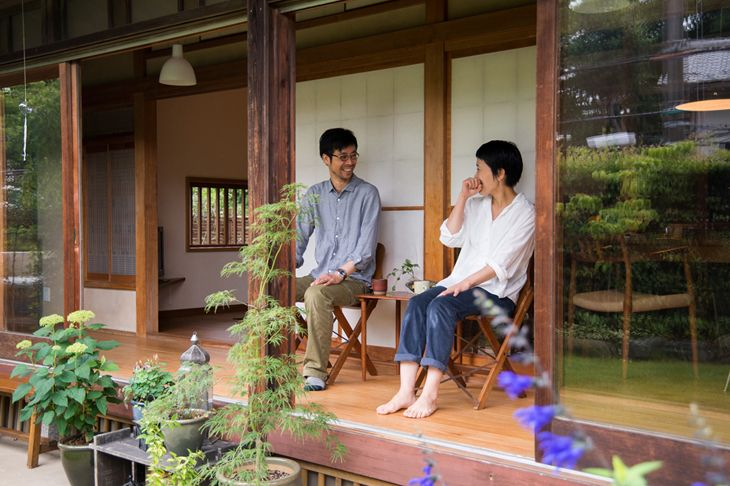 小池高弘さん 小川奈緒さん 『ゆったりと家族がつながる、縁側のある暮らし』 / INTERVIEWS / LIFECYCLING -IDEE-