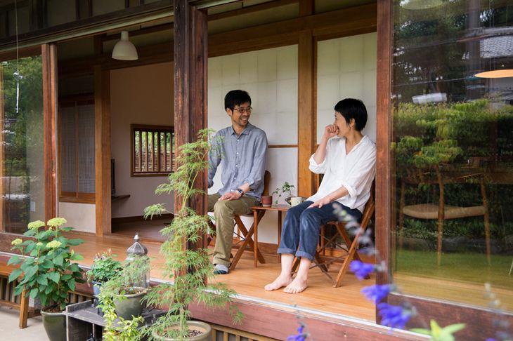 Japanese Home (photos) 小池 高弘さん 小川 奈緒さん 『ゆったりと家族がつながる、縁側のある暮らし』 / INTERVIEWS / LIFECYCLING -IDEE-