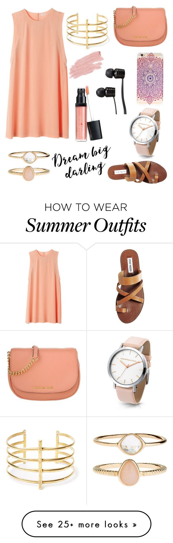 """Summer Outfit #75"" by liziekay on Polyvore featuring Steve Madden, Michael Kors, Vans, BauXo, Accessorize, Laura Geller and Jane Iredale"