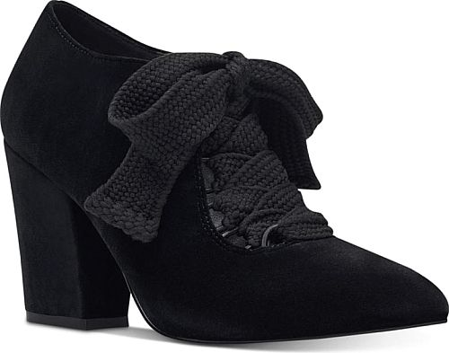 Compare Prices on the Nine West Sweeorn Ankle Booties Shown in Black #shoes #boots #booties #footwear #fashion #style #ankleboots