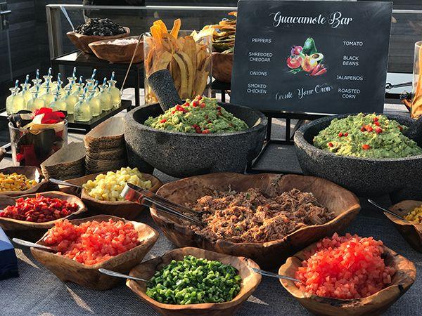 25 Interactive Food Station Ideas Wedding Food Bars