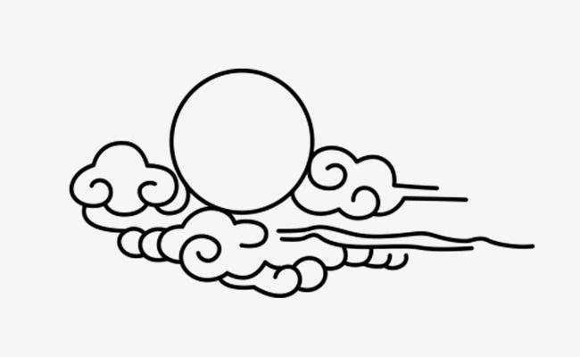 China Wind Cloud Stick Figure Cloud Tattoo Japanese Tattoo Art Wind Tattoo