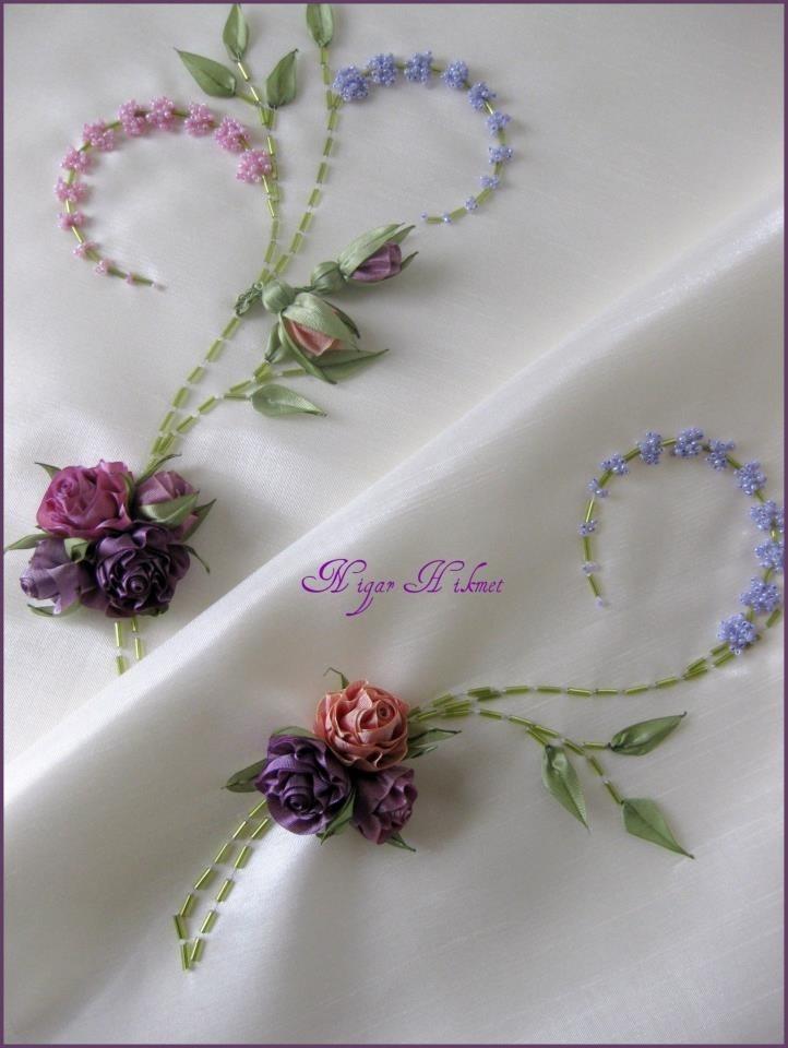 Nigar Hikmet, ribbon art