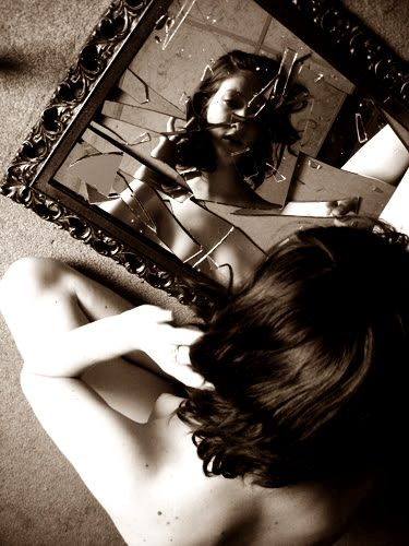 Trust is like a broken mirror... you can try to fix it if it's broken…  but you can still see the crack in the reflection