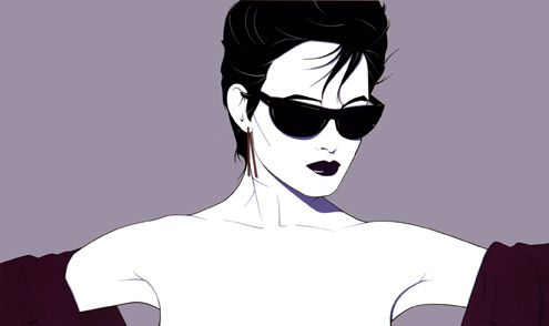 This Patrick Nagel print was on the wall in my apartment in college because it reminded me of my then girlfriend (now wife of 21 years.)