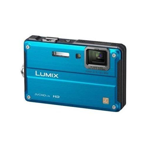 Panasonic Lumix DMC-TS2 14.1 MP Waterproof Digital Camera with 4.6x Optical Image Stabilized Zoom with 2.7-Inch...
