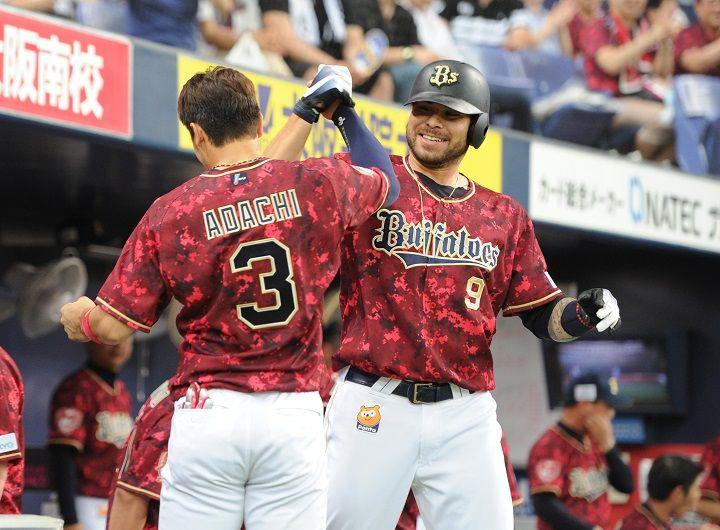 本塁打後にベンチ前で安達(左)と行うパフォーマンスは、すっかりおなじみに 自ら歩み寄って声をかける。言語は通じなくても、バットを手にし、ジェスチャーで意志の疎…。ベースボール・マガジン社発行「週刊ベースボール」のプロ野球12球団・高校・大学・社会人野球・ドラフト注目選手のコラム&インタビュー。