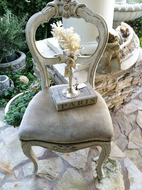 french chair from Blossoms Vintage Chic